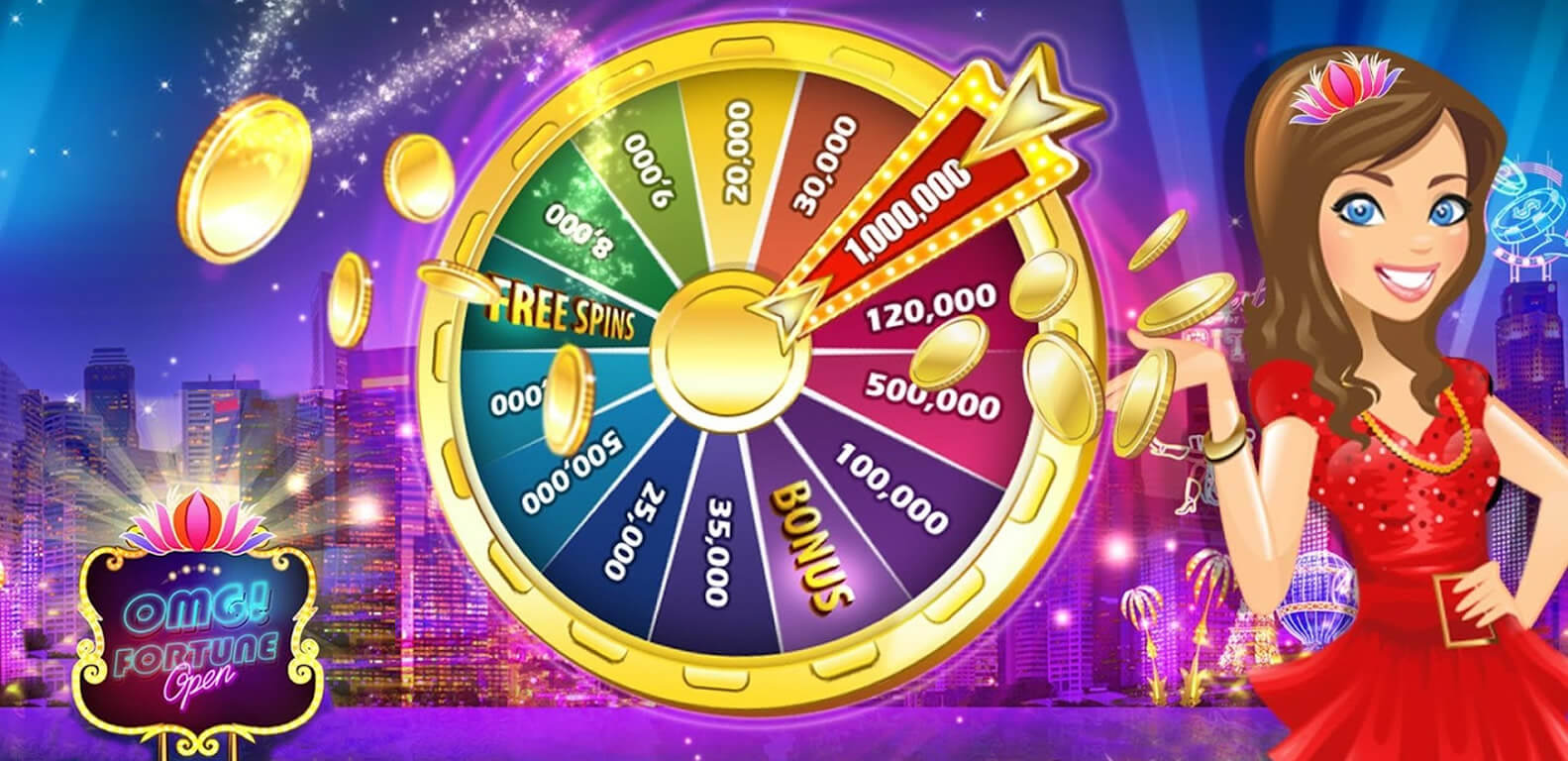 OMG Fortune! Slots Free Coins 1
