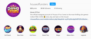 House of Fun Free Coins & Spins 23