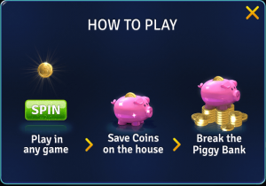 House of Fun Free Coins & Spins 30