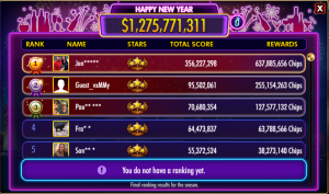 doubledown casino journey scores